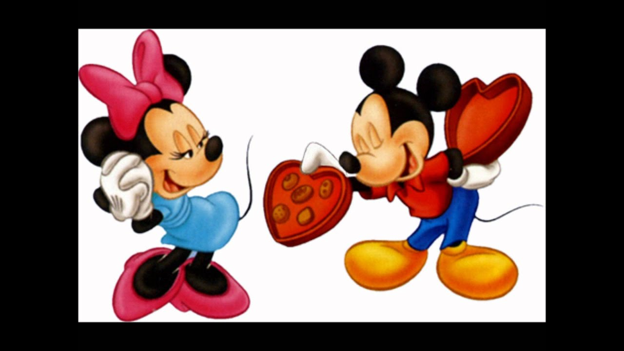 HEY MICKEY MINI MOUSE IS SINGING FOR MICKEY