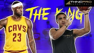 Top 3 lebron james scoring moves for basketball players! use these moves today!!!