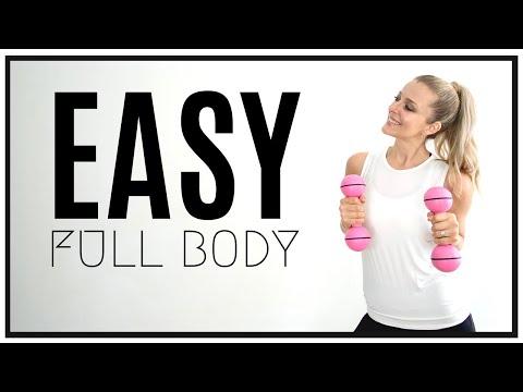 30 Min FULL BODY Easy Toning Workout / GREAT FOR FIBROMYALGIA!
