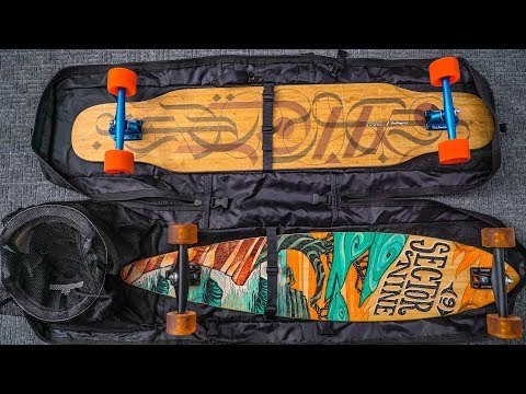 The Best Longboards & Accessories Part 1 - Bags: Sector 9 Field Bag, Body Bag, Deck Hook & more!