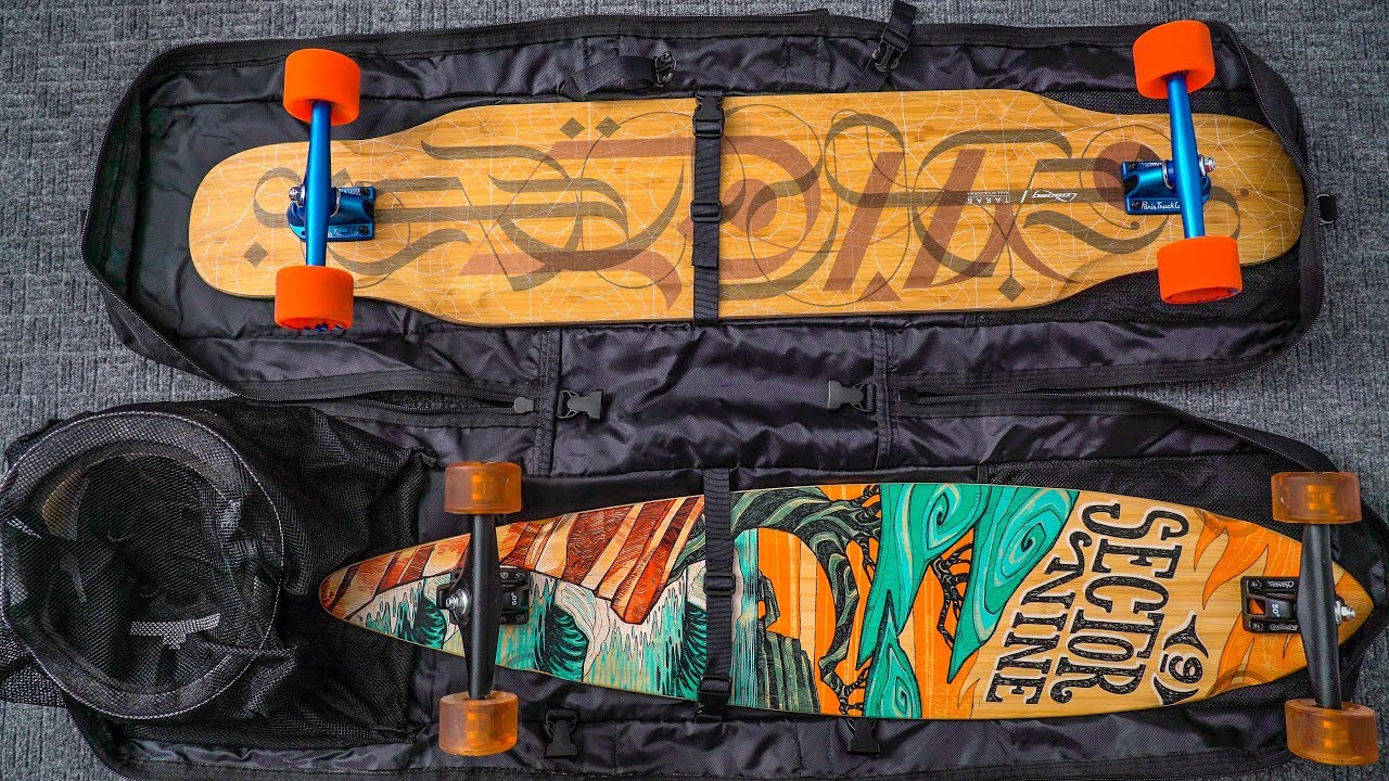 The Best Longboards Accessories Part 1 Bags Sector 9 Field Bag Body Deck Hook More