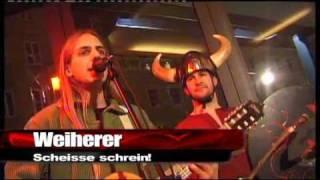 """weiherer - """"scheiße schrein!"""" - live bei ali khan tv"""