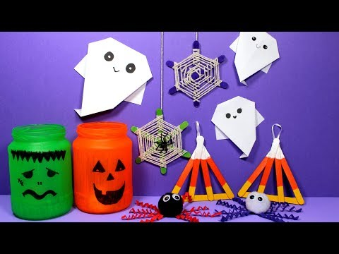 Easy Kids Craft | Halloween Crafts for Kids