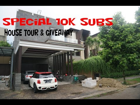 HOUSE TOUR + GIVEAWAY - SPECIAL 10K SUBS - VLOG #52 - 동영상