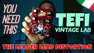 The pedal I didn't know I needed | THE LEADER by TEFI VINTAGE LAB (Review/Demo) | Jack JD