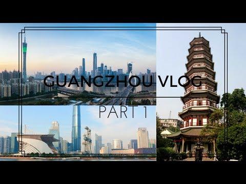 CHINA VLOG PART 1| Ξενάγηση στην Guangzhou| Γιατί είμαι στην Κίνα και πολλά άλλα| GIO DREVELI
