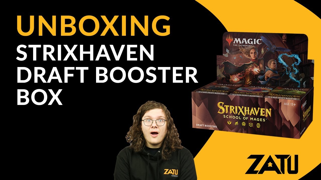 Unboxing Strixhaven School of Mages Booster Box