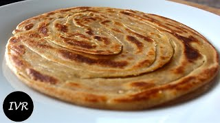 lachha paratha multi layered indian bread   unique tasty indian vegetarian recipe