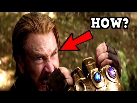 The REASON HOW Captain America Can Hold Back Thanos & The Infinity Gauntlet REVEALED!?
