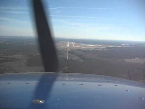 Landing at Jacksonville International Airport (JAX)
