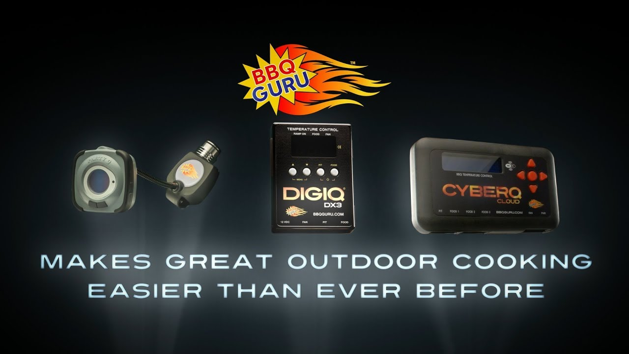 Bbq Guru Party Q Partyq Automatic Bbq Temperature Control For Slow And Low Bbq