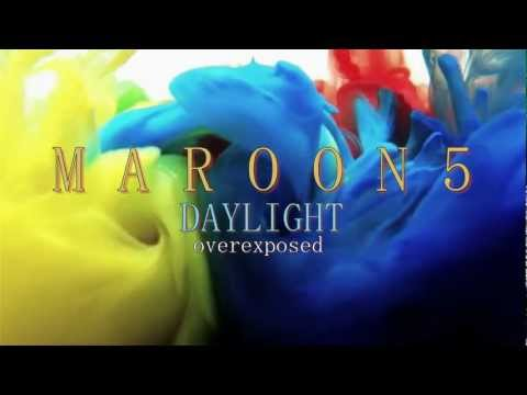Maroon 5  daylight HD lyrics