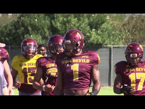 Arizona State Wide Receivers Progression (9/19/17)