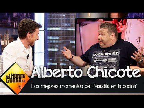 Alberto chicote repasa los mejores momentos de 39 pesadilla for Pesadilla en la cocina brasas