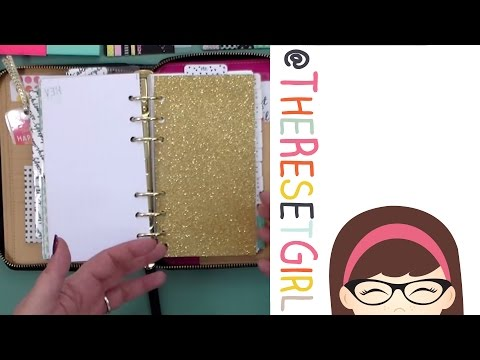 TheResetGirl: Kate Spade Wellesley Planner Set Up and Walk Through