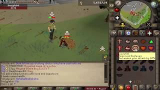 High Risk Pure Pking - Video #8 - Injure OSRS [200M+ LOOT]