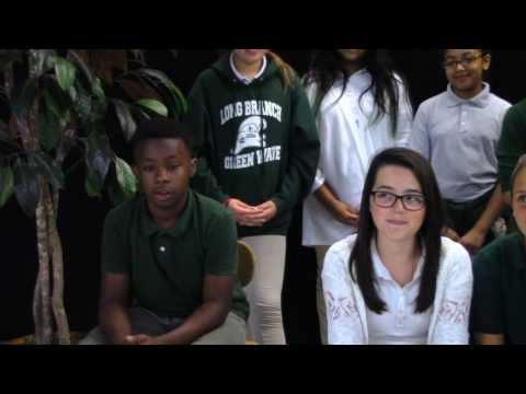 Long Branch Middle Schools Pen pal Movie with African Students