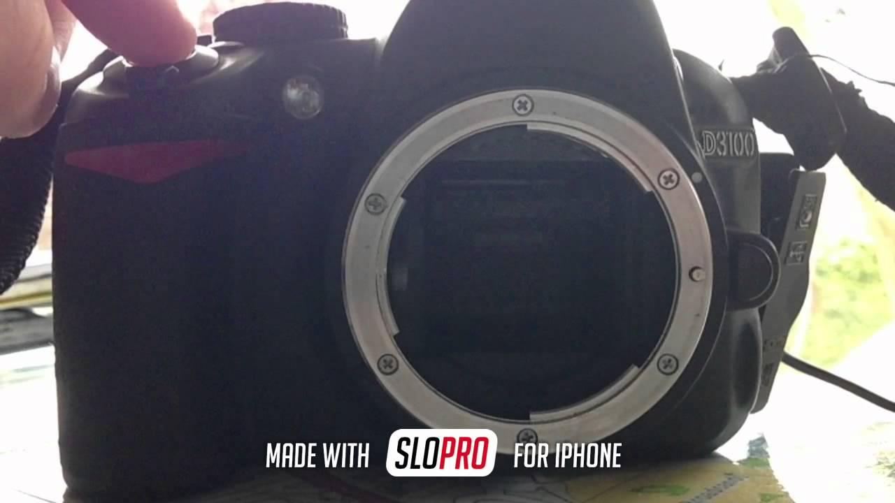 Nikon D3100 - Burst Mode Slopro