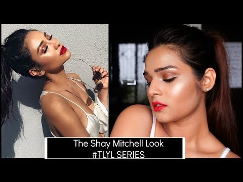 Bronzed Glowy Shay Mitchell Look  #TLYL SERIES