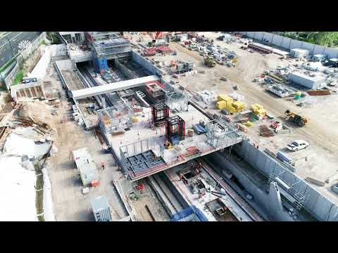 Sydney Metro: Cherrybrook Station update, May 2018
