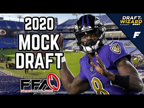 Fantasy Football Mock Draft - 2020 Fantasy Football Advice | 12 Team | Half PPR | 1st Overall
