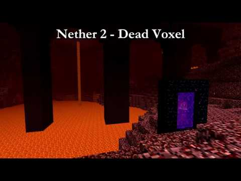 Minecraft Nether 2 Music 10 HOURS (Dead Voxel)