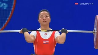 2015 World Weightlifting Championships, Women 48 kg \ Тяжелая Атлетика. Чемпионат Мира