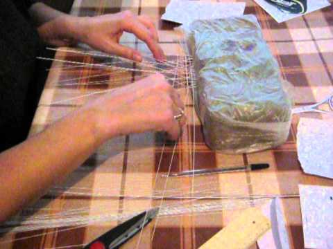 How To Make A Tennis Racket For The Decoration Of Cake Part 1 Youtube