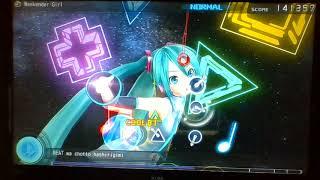 Hatsune Miku: Project DIVA F (Demo) Weekender Girl - Normal