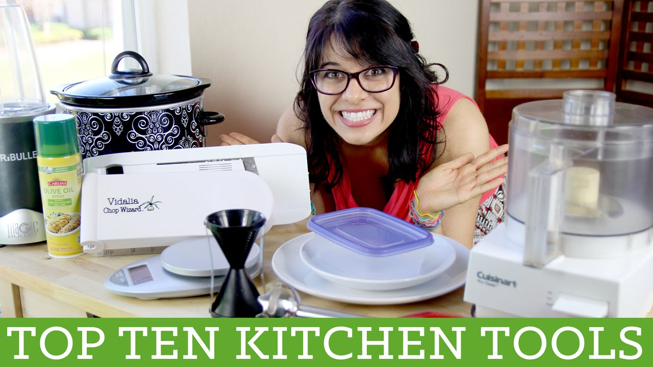 Top Ten Kitchen Tools and Gadgets - Alyssia\u0027s Vlog - YouTube