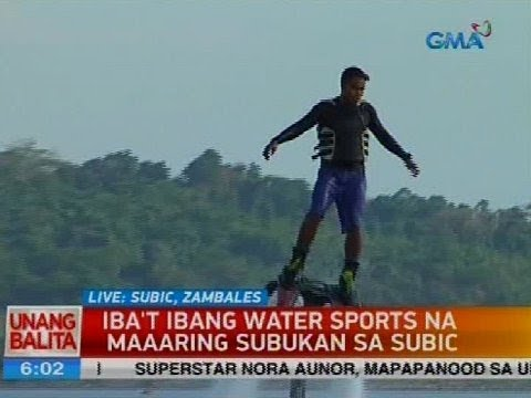 Iba't ibang water sports na maaaring subukan sa Subic