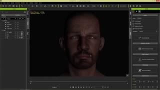 3 х точечное кинематографическое освещение в Iclone