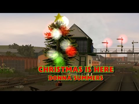 Christmas Is Here - Donna Summers | Trainz Music Video