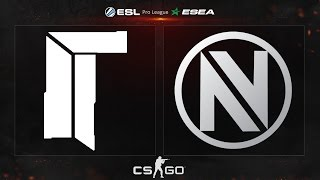 CS:GO - Titan vs. EnVyUS [Mirage] - ESL ESEA Pro League - Matchday 21