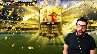 OMFG I PACK INFORM MARTIAL!!!! FIFA 17 Ultimate Team Pack Opening