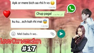 Cutest love chating Bf Gf in Hindi
