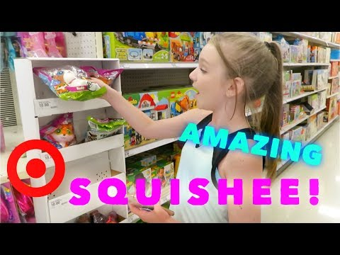 AMAZING SQUISHEE! AT TARGET | Bryleigh Anne