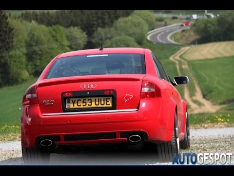 best audi c5 rs6 s6 a6 exhaust sounds youtube. Black Bedroom Furniture Sets. Home Design Ideas