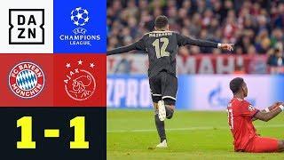 Manuel Neuer verhindert die Pleite: FC Bayern - Ajax Amsterdam 1:1   UEFA CL   DAZN Highlights