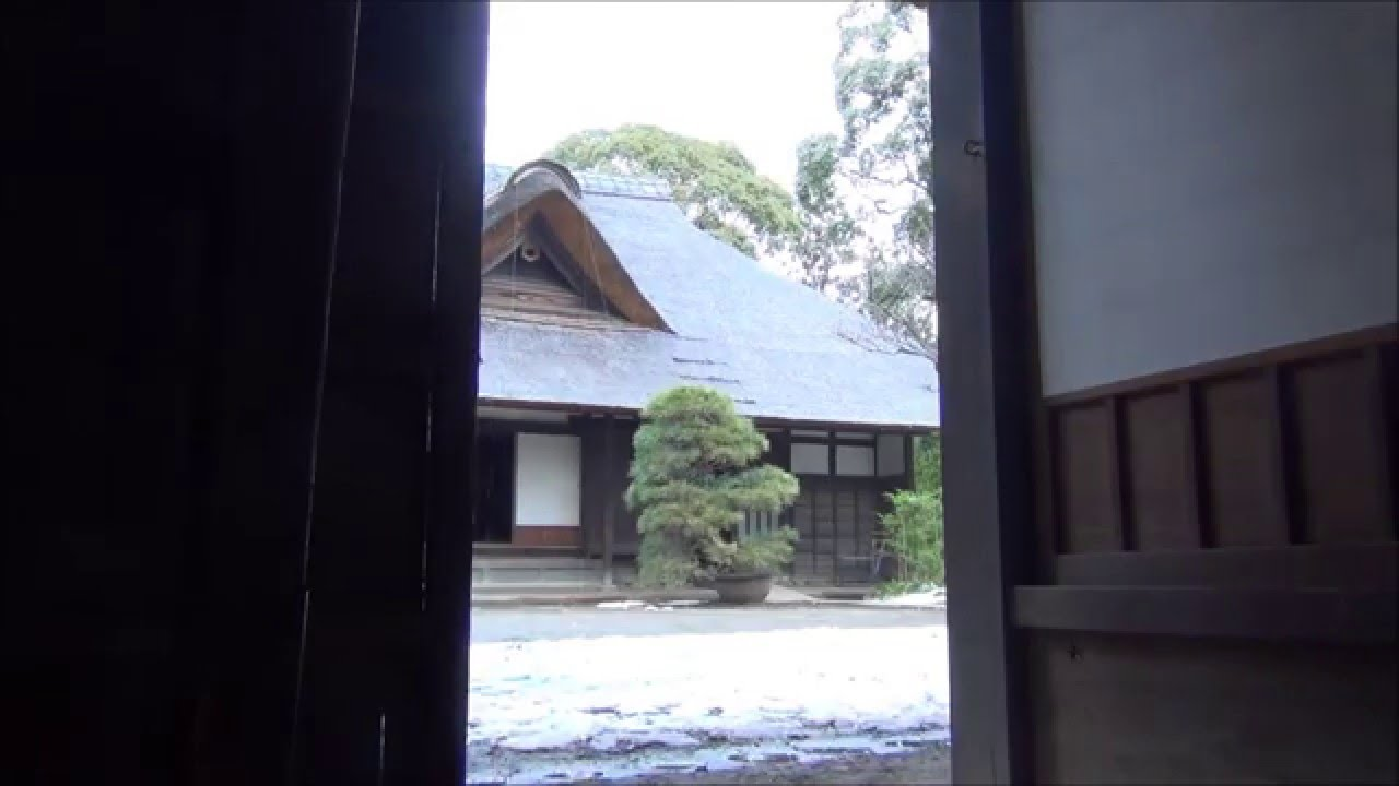 Sound Effect The Sound Of Japan Entrance Door Of The Old Wooden Japanese House