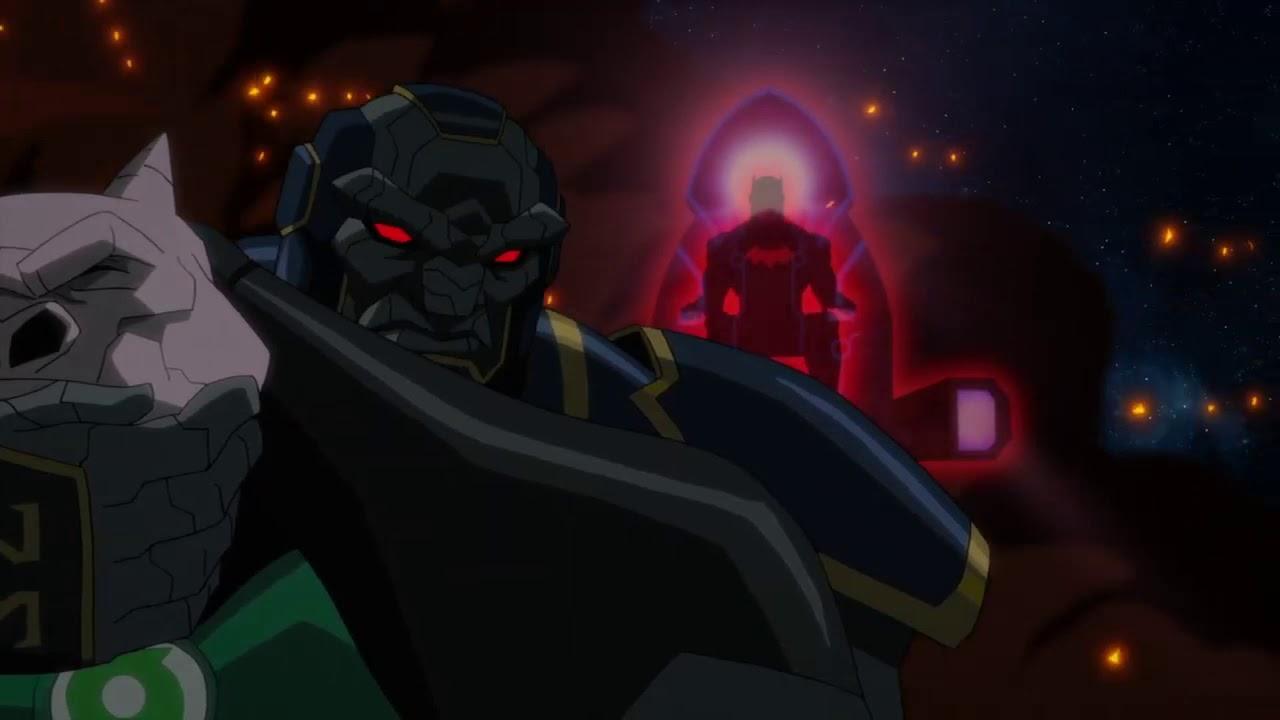 Justice League Dark Apokolips War 2020 Green Lantern Corps Death Scene Youtube