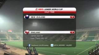 New Zealand vs England - Men