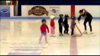Фигурное катание тренировка дети 3-4г. Монреаль