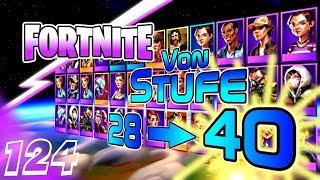 FORTNITE ⚡ Von Stufe 28 auf Stufe 40◄#124►Let's Play/Deutsch/German/HD/FORTNITE