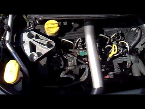 Glow Plug Wiring Diagram Sony Radio Receiver Str D265 Schaltbild Renault Scenic 2005 1.5dci Ticking - Youtube