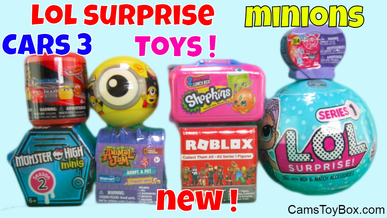 Lol Surprise Dolls Minions Mineez Animal Jam Shopkins Monster High