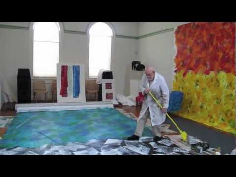 Eric Carle Painting Mural.mov