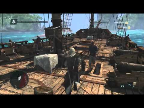 13 Minutes of Caribbean Open-World Gameplay - Assassin's Creed 4 Black Flag [North America]