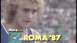 1987 IAAF World Track and Field Championships - Day 7