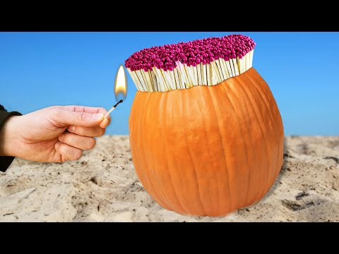 experiment:-pumpkin-vs-matches